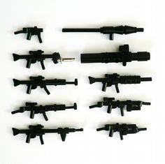 Gun Show - Purist Edition: A LEGO® creation by W. Mark : MOCpages.com