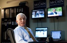 "Ed Harris as John McCain in HBO's ""Game Change"" (2012)"