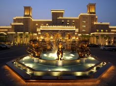 Madinat Jumeirah - Al Qasr- Entrance Fountain