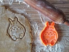 Totoro cookie cutter for a real Totoro adept) Cookie cutters are printed on 3D-printer with PLA plastic. PLA (polylactide) is a biodegradable and