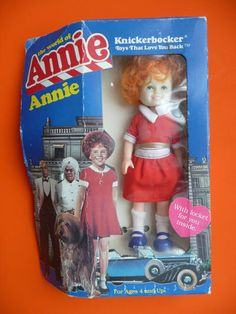 Doll modeled after Aileen Quinn from 1982 Annie Movie