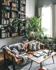 deco jungle urbaine salon