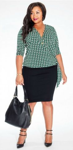 How To Wear a Pencil Skirt If You Have a Midlife Middle l Fabulous After 40