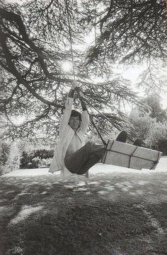 "Mick Jagger, quite the ""swinger"" :) cg."