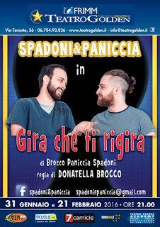"""TG Musical e Teatro in Italia: """"Gira che ti rigira…"""" - Spadoni&Paniccia al Teatro..."""