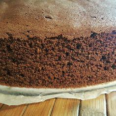 Taki wysoki biszkopt kakaowy  #biszkopt #spongecake #cake #sponge #cocoa #kakao #kakaludek #blog #droetker #oetker #decomoreno #deser #dessert