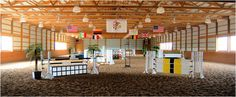 because no dream barn is complete without an amazing indoor arena.