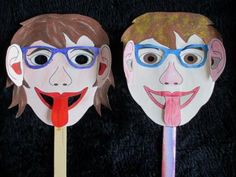Maskers af  http://www.gelovenisleuk.nl
