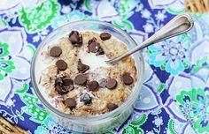 Coconut Cookie Dough Oatmeal