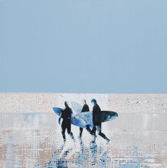 One of a series of stunning surfer paintings by Melanie McDonald, fantastic artist (and friend). If you like them, check out more at http://www.melaniemcdonald.co.uk