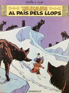 """""""Yakari al país dels llops"""". Està a la biblio. Comic Books, Comics, Cover, Movie Posters, Editorial, Store, Countries, Animales, Popular Books"""
