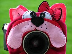 custom LARGE Lens Pet YOUR CHOICE for your camera by mandeefranee, $22.00