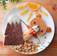 Wonderful Stories Told With Beautiful Food Art - Randommization Cute Food, Yummy Food, Yummy Yummy, Tasty, Food Art For Kids, Children Food, Food Artists, Healthy Eating For Kids, Food Humor