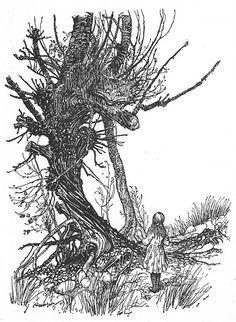 """Arthur Rackham «Алиса в стране чудес»   """"Картинки и разговоры"""""""