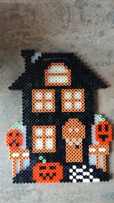 Halloween Hama Bügelperlen