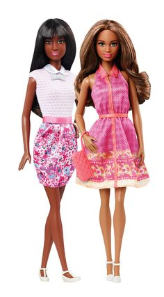 Find your style with the Barbie Fashionistas doll line! [ad]