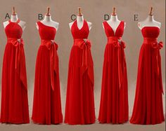 Aliexpress.com : Buy Mismatched Red Long New bridesmaid dress cheap Bridesmaid Dress for wedding from Reliable dress up cats dogs suppliers