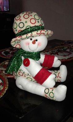 Pin by Peggi Lennard on Felting Christmas Decorations Sewing, Christmas Sewing, Christmas Diy, Christmas Wreaths, Holiday Decor, Snowman Crafts, Decor Crafts, Christmas Crafts, Diy Crafts