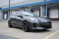 Planning on red lug nuts and brake calipers for my car. This one looks like red in this picture so good enough Mazda 3 2012, Mazda 3 Mps, Mazda 3 Sedan, Mazda 3 Hatchback, Honda S2000, Honda Civic, My Dream Car, Dream Cars, Mazda 3 Speed
