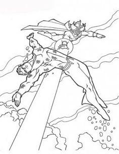 Aquaman coloring page 51  Aquaman coloring book  Pinterest  Aquaman