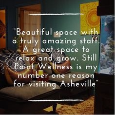 Still Point Wellness ( Visit Asheville, Sensory Deprivation, Number One, Be Still, Massage, Wellness, Photo And Video, Vacation, Sayings