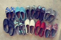 Closet full of Toms!!