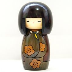 MMH Collectibles Japan - Lovely Creative Kokeshi Doll KOJITSU (LUCKY DAY), Green by Usaburo order page