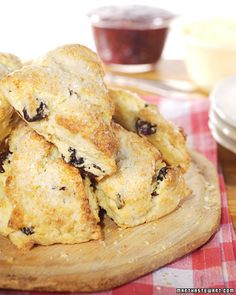 Cherry Scones Recipe | Cooking | How To | Martha Stewart Recipes