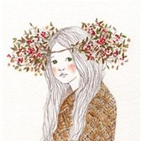 We hope artworks on Grafolio will function beyond that of a simple portfolio and garner respect as a culture which can be enjoyed by everyone. Illustrations, Illustration Art, Korean Painting, Hair Reference, Korean Artist, Tile Art, Great Love, Colored Pencils, Aurora Sleeping Beauty