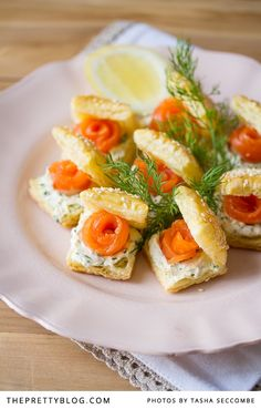 Smoked Trout Puffs {Recipe} | Recipes | The Pretty Blog