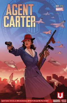 Agent Carter Marvel Unlimited Plus Variant Cover Marvel Films, Marvel Art, Marvel Dc Comics, Marvel Heroes, Marvel Avengers, Peggy Carter, Badass Women, Disney Marvel, Ghost Rider