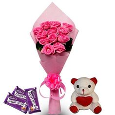 Send #Flowers and #Chocolates #Gifts to Cochin or anywhere in India. http://bit.ly/1ASADlC
