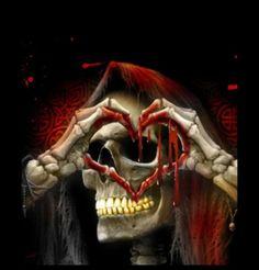 Skull Tattoos, Body Art Tattoos, Grim Reaper Art, Beautiful Dark Art, Skull Pictures, Skull Artwork, Skeleton Art, Skull Wallpaper, Sugar Skull Art