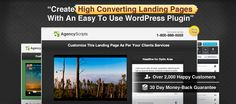 Landing page builder wp plug in