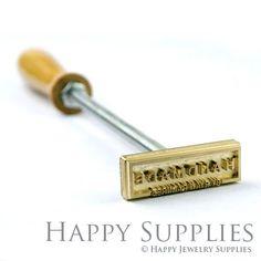 custom wood leather food branding iron by happyjewelrysupplies