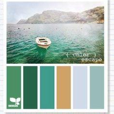 Color escape color pallet