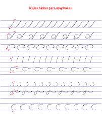 caligrafia manuscrita ejercicios - Buscar con Google
