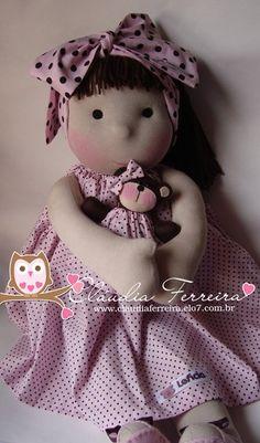 Boneca de Pano Lelê