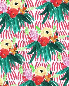 bouffants-550 Art And Illustration, Illustrations, Pattern Illustration, Textile Patterns, Flower Patterns, Print Patterns, Morris, Floral Prints, Art Prints