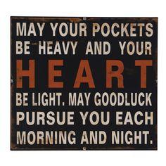 May Your Pockets Wall Art