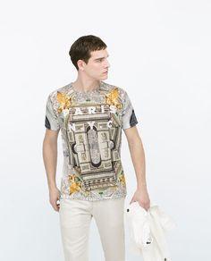 ZARA - MAN - Printed T-shirt