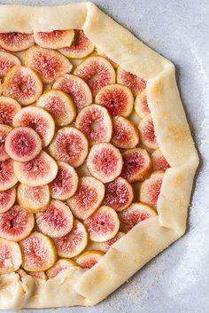 Fig and Honey Galette #fig #summer #galette