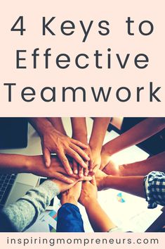 We all know that teamwork is critical to the success of your organisation. And what are the 4 crucial keys to effective teamwork? You'll find them in this post. #4keys #effectiveteams #teamwork #4keystoeffectiveteamwork