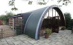 repurposed nissen hut