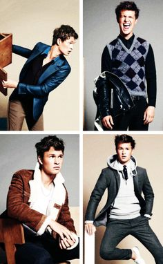 Ansel Elgort for GQ Magazine. >> Jesus Christ @harilucus is ur hormones going crazy like mine or what