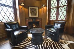 great place of the zebra rug