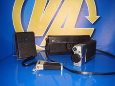 camara vintage super 8 CANON cine canonet 8 + fotometro C-8 Trigger grip 3