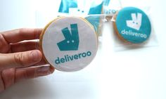 Galletas corporativas de empresa Deliveroo