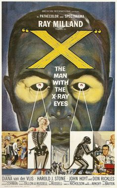 """X"" THE MAN WITH X-RAY EYES"