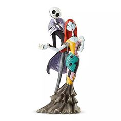 Jack Skellington and Sally Couture de Force Figurine by Enesco $99.95